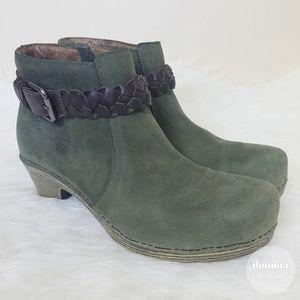 Dansko • Michelle Oiled Ankle Booties 41